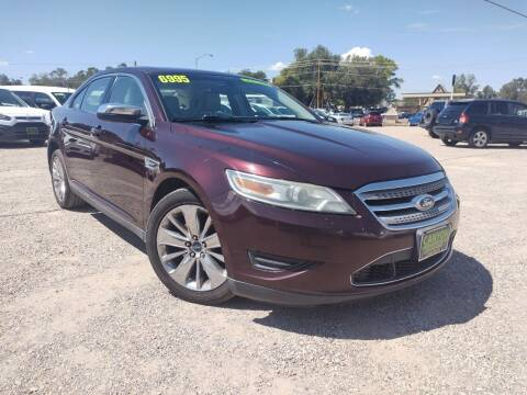 2011 Ford Taurus for sale at Canyon View Auto Sales in Cedar City UT