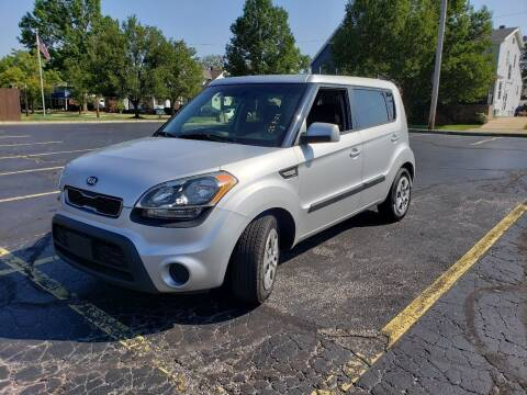 2013 Kia Soul for sale at USA AUTO WHOLESALE LLC in Cleveland OH