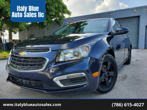 2016 Chevrolet Cruze Limited for sale at Italy Blue Auto Sales llc in Miami FL