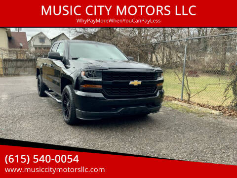2017 Chevrolet Silverado 1500 for sale at MUSIC CITY MOTORS LLC in Nashville TN
