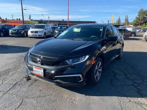 2019 Honda Civic for sale at City Motors in Hayward CA