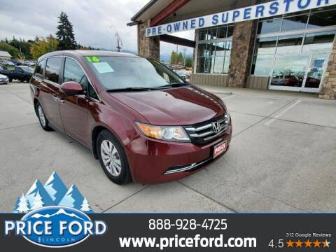 2016 Honda Odyssey for sale at Price Ford Lincoln in Port Angeles WA