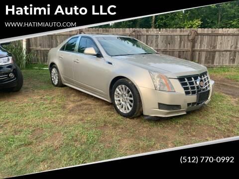 2013 Cadillac CTS for sale at Hatimi Auto LLC in Austin TX
