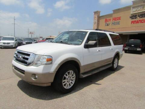 2012 Ford Expedition EL for sale at Import Motors in Bethany OK