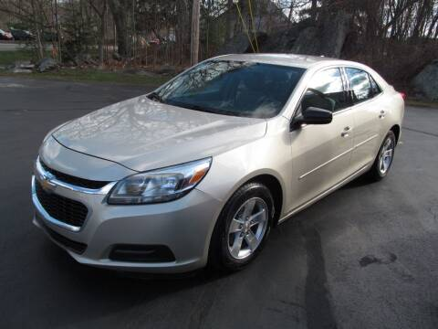 2014 Chevrolet Malibu for sale at Old Time Auto Sales, Inc in Milford MA