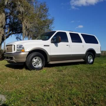 2004 Ford Excursion for sale at Specialty Motors LLC in Land O Lakes FL