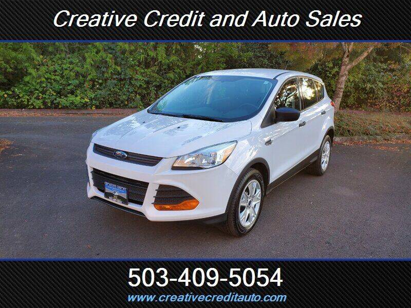 2013 Ford Escape for sale at Creative Credit & Auto Sales in Salem OR