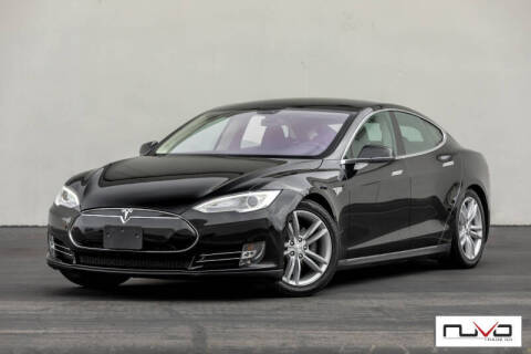 2013 Tesla Model S for sale at Nuvo Trade in Newport Beach CA