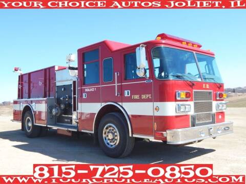 2001 Pierce Fire Truck for sale at Your Choice Autos - Joliet in Joliet IL