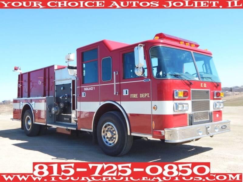 2001 Pierce Fire Truck for sale in Joliet, IL