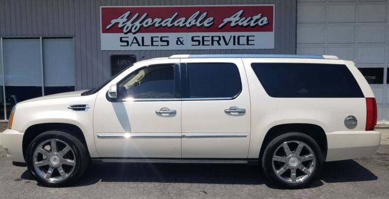 2008 Cadillac Escalade ESV for sale at Affordable Auto Sales & Service in Berkeley Springs WV