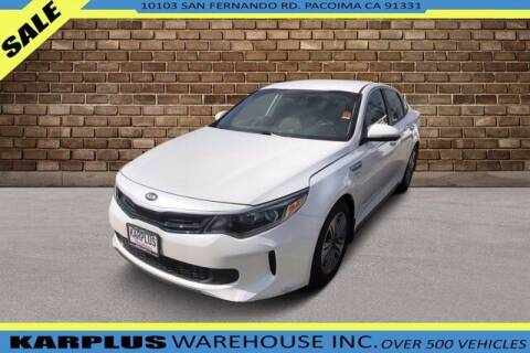 2017 Kia Optima Plug-In Hybrid for sale at Karplus Warehouse in Pacoima CA