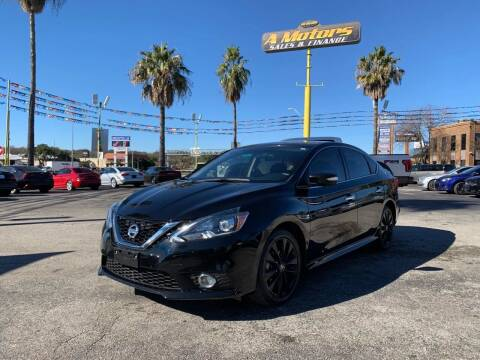 2017 Nissan Sentra for sale at A MOTORS SALES AND FINANCE in San Antonio TX