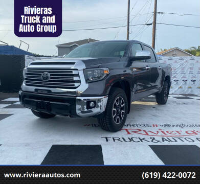 2019 Toyota Tundra for sale at Rivieras Truck and Auto Group in Chula Vista CA