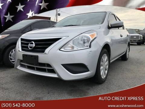 2016 Nissan Versa for sale at Auto Credit Xpress - Sherwood in Sherwood AR