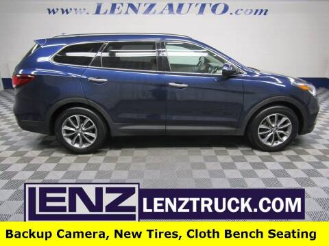 2017 Hyundai Santa Fe for sale at LENZ TRUCK CENTER in Fond Du Lac WI
