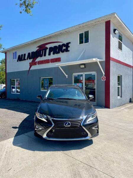 2016 Lexus ES 350 for sale at All About Price in Bunnell FL