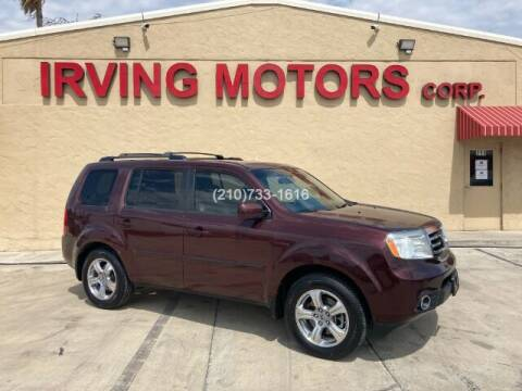 2012 Honda Pilot for sale at Irving Motors Corp in San Antonio TX