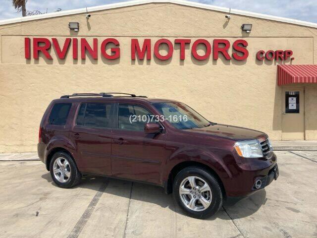 2012 Honda Pilot for sale at Irving Motors Corp in San Antonio TX