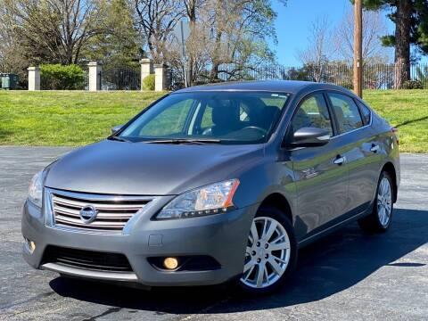 2015 Nissan Sentra for sale at Sebar Inc. in Greensboro NC
