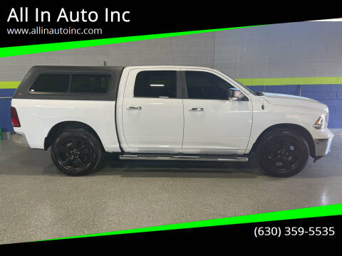 2014 RAM Ram Pickup 1500 for sale at All In Auto Inc in Addison IL