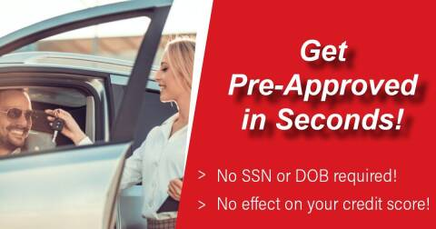 PRE-APPROVAL IN SECONDS NO SSN ... NO DOB REQUIRED for sale at Auto Titan in Knoxville TN