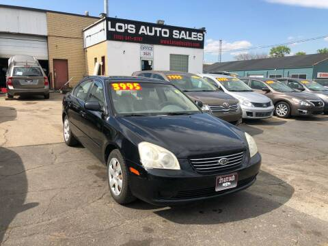 2007 Kia Optima for sale at Lo's Auto Sales in Cincinnati OH