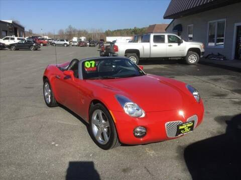 2007 Pontiac Solstice for sale at SHAKER VALLEY AUTO SALES in Enfield NH