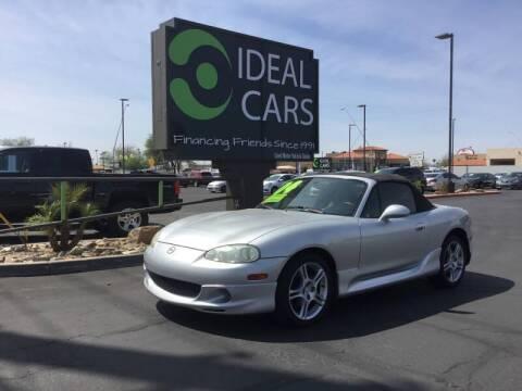 2004 Mazda MX-5 Miata for sale at Ideal Cars Broadway in Mesa AZ