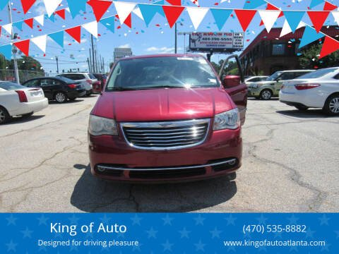 2014 Chrysler Town and Country for sale at King of Auto in Stone Mountain GA