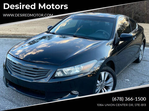 2009 Honda Accord for sale at Desired Motors in Alpharetta GA