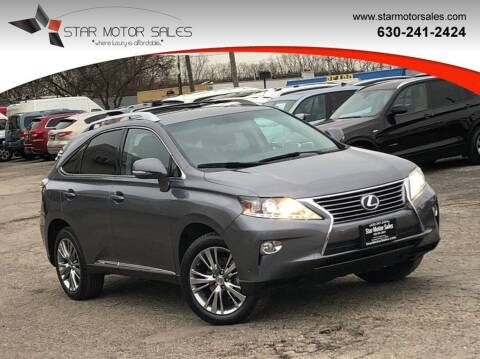 2013 Lexus RX 450h for sale at Star Motor Sales in Downers Grove IL