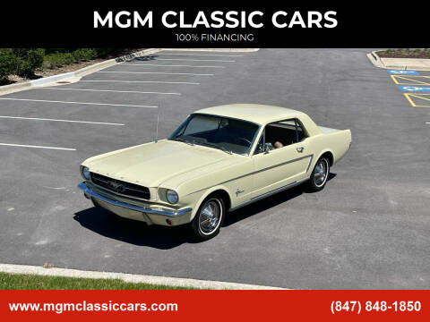 1965 Ford Mustang for sale at MGM CLASSIC CARS in Addison IL