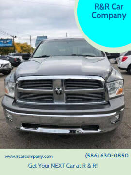 2010 Dodge Ram Pickup 1500 for sale at R&R Car Company in Mount Clemens MI