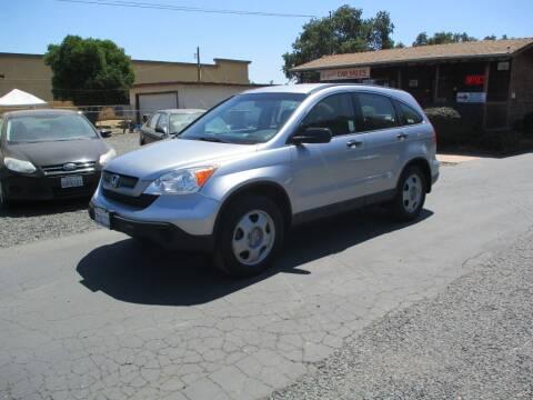 2007 Honda CR-V for sale at Manzanita Car Sales in Gridley CA