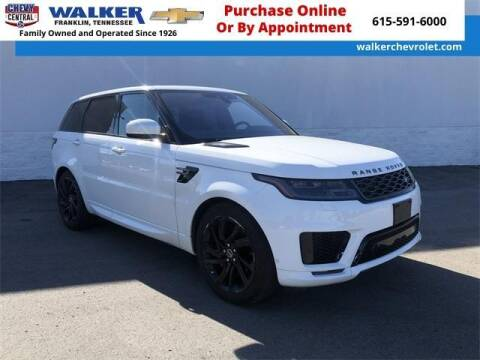 2019 Land Rover Range Rover Sport for sale at WALKER CHEVROLET in Franklin TN