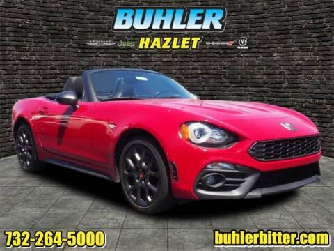 2018 FIAT 124 Spider for sale at Buhler and Bitter Chrysler Jeep in Hazlet NJ