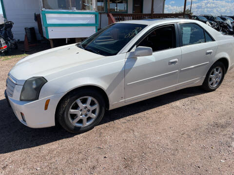 2007 Cadillac CTS for sale at PYRAMID MOTORS - Fountain Lot in Fountain CO