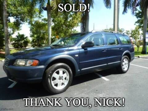 2002 Volvo XC for sale at VehicleVille in Fort Lauderdale FL