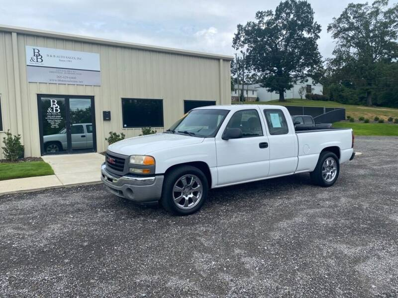 2006 GMC Sierra 1500 for sale at B & B AUTO SALES INC in Odenville AL