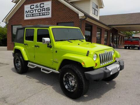 2012 Jeep Wrangler Unlimited for sale at C & C MOTORS in Chattanooga TN