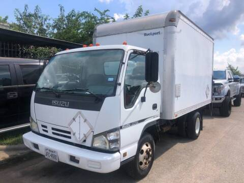 2007 Isuzu NPR for sale at TWIN CITY MOTORS in Houston TX