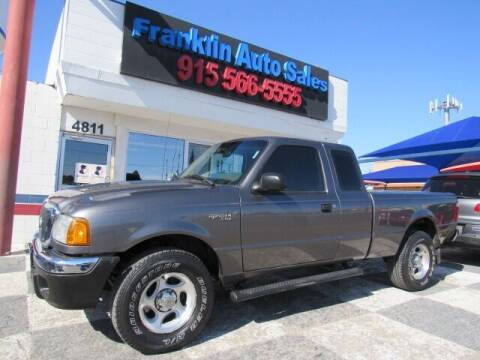 2005 Ford Ranger for sale at Franklin Auto Sales in El Paso TX