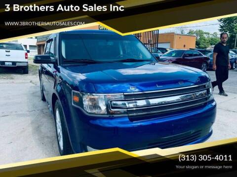 2014 Ford Flex for sale at 3 Brothers Auto Sales Inc in Detroit MI