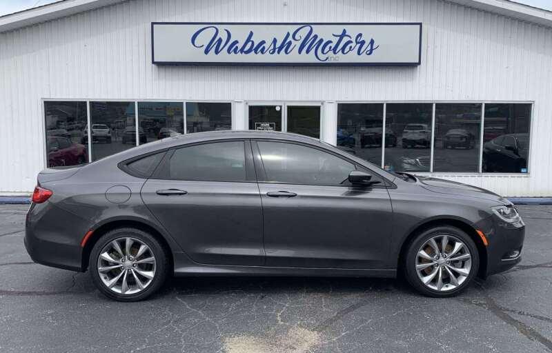 2016 Chrysler 200 for sale at Wabash Motors in Terre Haute IN