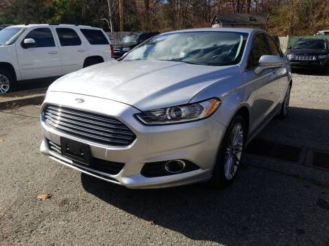 2013 Ford Fusion for sale at AMA Auto Sales LLC in Ringwood NJ