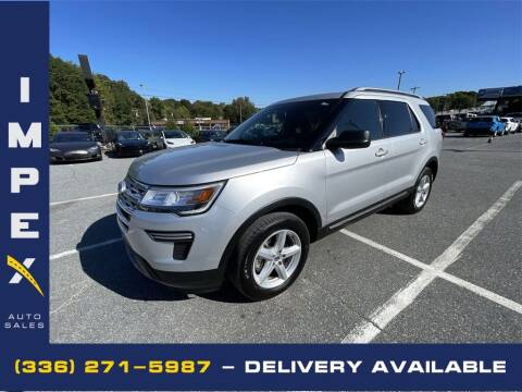 2019 Ford Explorer for sale at Impex Auto Sales in Greensboro NC
