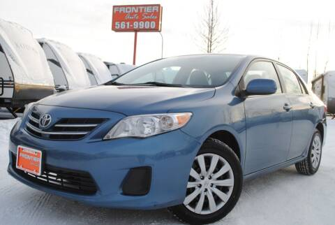 2013 Toyota Corolla for sale at Frontier Auto & RV Sales in Anchorage AK