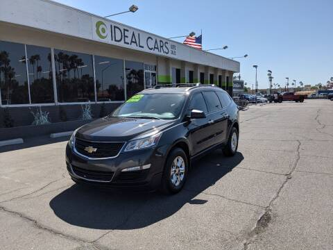 2016 Chevrolet Traverse for sale at Ideal Cars Broadway in Mesa AZ