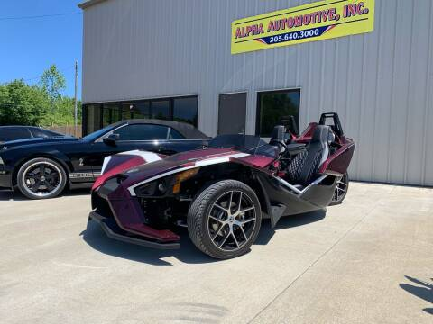 2017 Polaris Slingshot for sale at Anaheim Auto Auction in Irondale AL